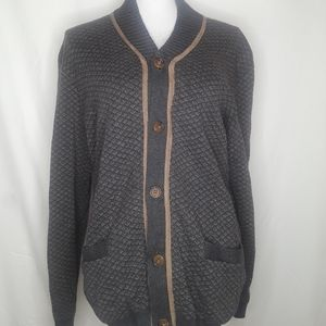 Tasso Elba button up cardigan
